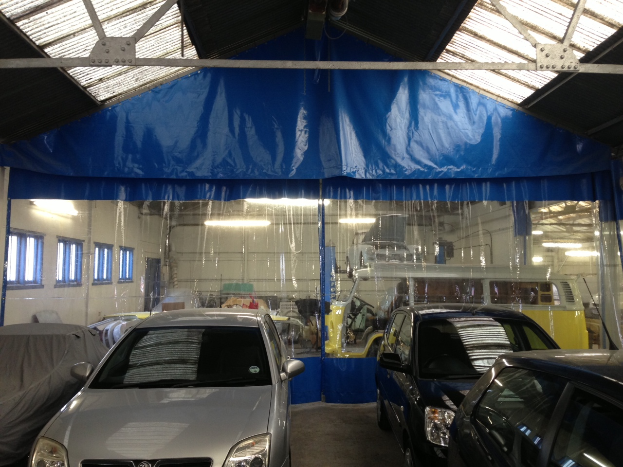 Heavy Duty Garage Curtains Mobile Curtains Uk